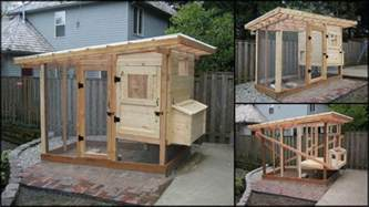 Diy Backyard Garden Design Homemade Chicken Coop