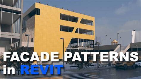 revit tutorial facade facade patterns in revit tutorial youtube