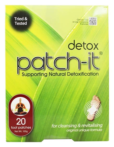 Detox Patch It by Buy Nutriworks Detox Patch It Supporting
