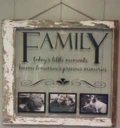 vintage window single pane picture frames family quote vintage windows window and pictures