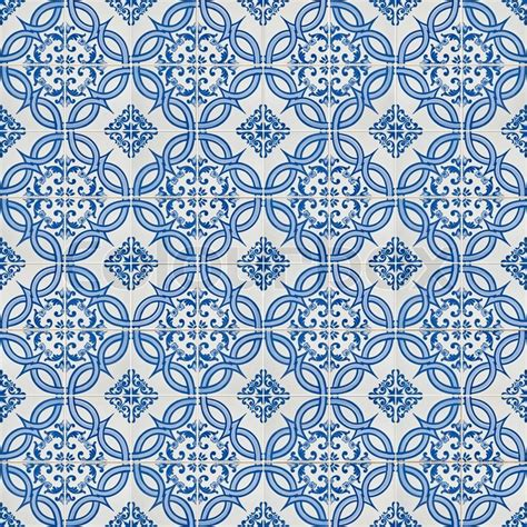 pattern ceramic wall tiles seamless tile pattern of ancient ceramic tiles stock