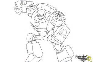 rescue bot coloring pages how to draw from transformers rescue bots drawingnow