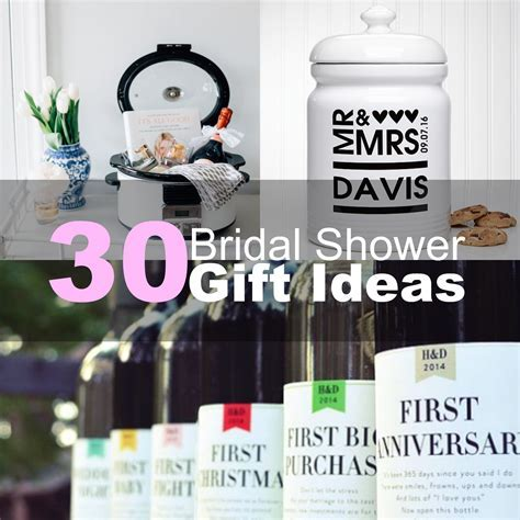 30 Bridal Shower Gift Ideas 2016