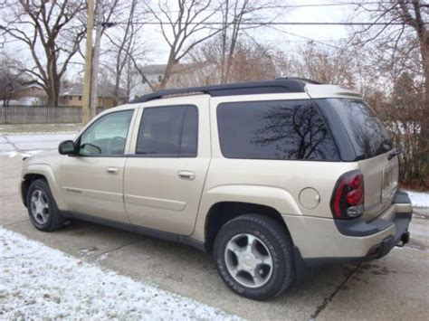 auto air conditioning service 2004 chevrolet blazer engine control sell used 2004 chevrolet trailblazer ext lt 4x4 v6 suv clean car fax 7 passanger moonroof in
