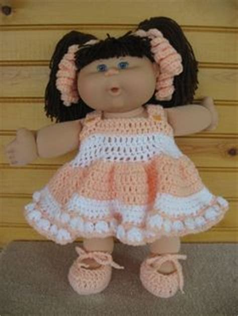 cabbage patch kid crochet patterns crochet patterns only free crochet cabbage patch doll dress pattern at http