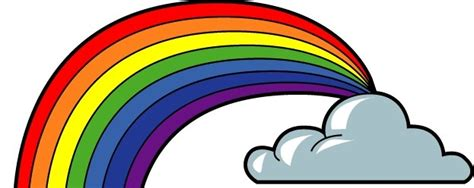 seven colors of the rainbow books free clipart of rainbow with 7 colors clipart best