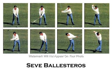 seve ballesteros golf swing seve ballesteros golf swing sequence photo 8 swings ebay