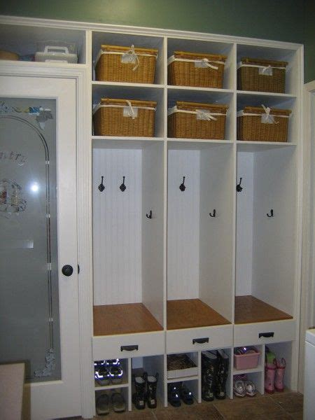 laundry rooms storage and doors kids cubbies lockers and laundry rooms on pinterest
