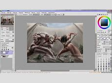 [SAI] Speed Paint - Eren vs Armored Titan (Attack on Titan ... Attack On Titan Eren Titan Vs Armored Titan