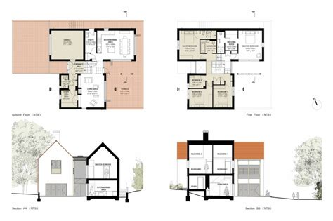 modern floor plans for new homes small home decoration