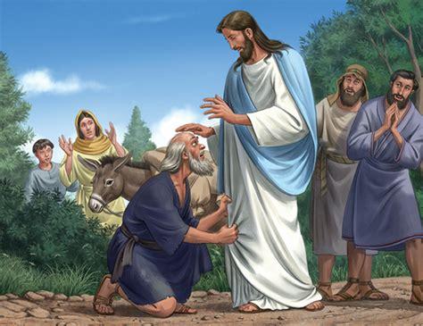 Blind Bartimaus Blind Bartimaeus Receives His Sight Mk Listen To God