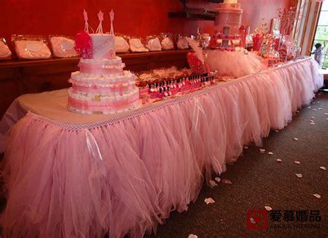 100cmx80cm popular colorful tulle tutu table skirt 100