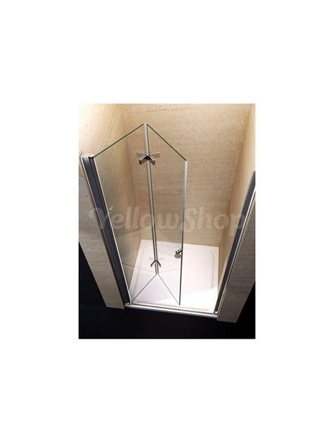porte per doccia porta per nicchia doccia apertura libro soffietto in