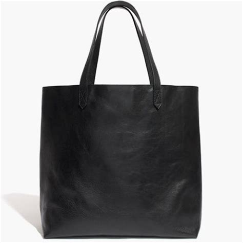 12 best black leather tote bags in 2018 black leather