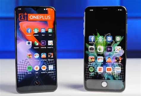 oneplus 6t takes on the iphone xs max geeky gadgets