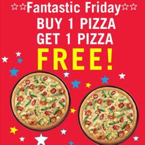 domino pizza friday offer dominos friday offer dominos pizza buy 1 get 1 free 15