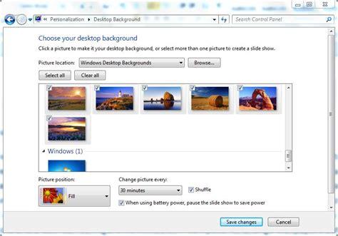 automatically change desktop wallpapers  windows