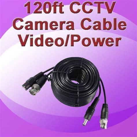 surveillance cameras on pinterest 20 pins dnt 120ft 120 foot feet cctv bnc video dc 12v power