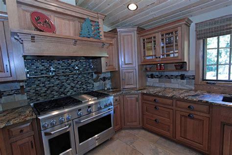 oak kitchen cabinets  grid glass affordable custom