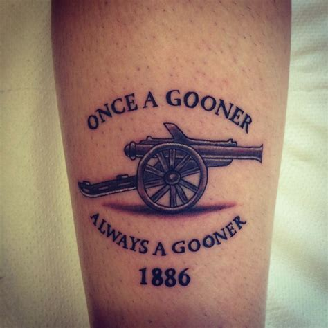 arsenal tattoo 30 best images about sports tattoos on raiders