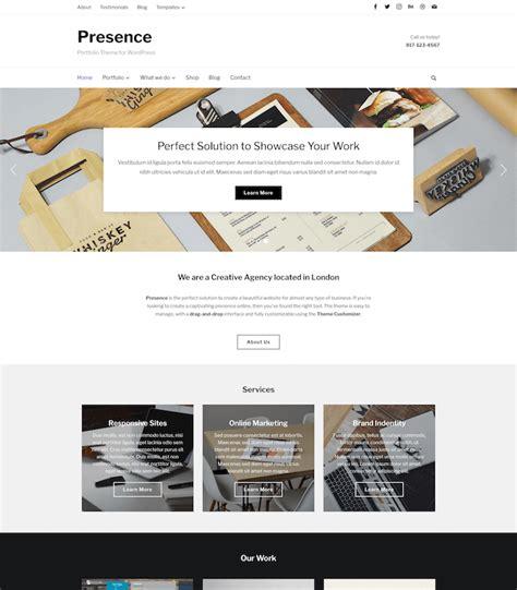 theme hotel unlimited money presence best multipurpose wordpress theme wpzoom