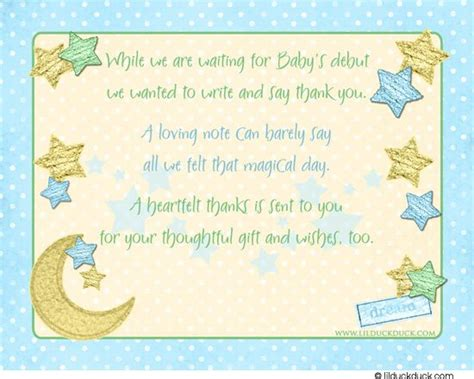 Baby Shower Thank You Notes Wording by Baby Shower Thank You Image Search And Baby Showers On