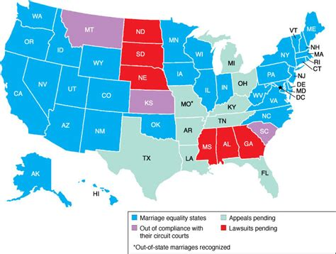 map usa marriage marriage equality maps charts archives marriage