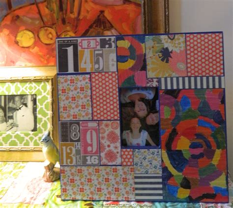 Decoupage Picture Frame - decoupage picture frame family crafts