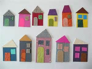 Paper Houses Craft - paper craft rudy and the dodo