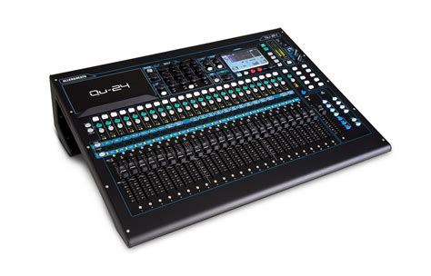 allen heath qu 24 30 in 24 out digital audio mixer