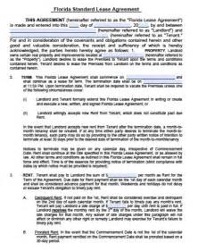 lease template florida free florida residential lease agreement pdf word doc