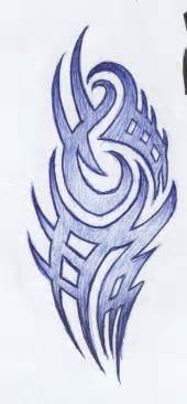 Tribal tattoo design by akadrowzy designs interfaces tattoo design