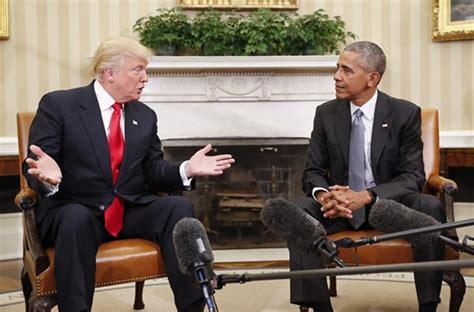 trump desk vs obama desk obama s farewell speech vs the salacious trump memo a