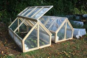 bepa s garden finishing the mini greenhouses