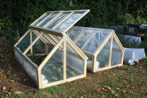 Bepa S Garden Finishing The Mini Greenhouses Mini Greenhouse Plans Free