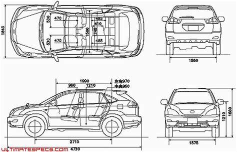Lexus Rx 350 Cargo Dimensions Lexus Rx 350 Dimensions Auto Car Hd