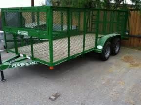 2017 mr victors 77x16 pipe top utility trailer heavy duty - Landscaping Trailer