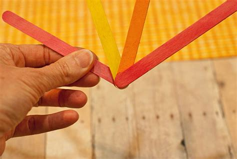 how to paper fan with stick kid popsicle stick and paper fan tutorial
