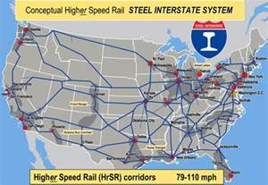 Train Routes In Usa Map by Passenger Services On The Steel Interstate System Steel