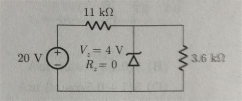 electrical engineering diode exles what is q point of a diode 28 images electrical engineering archive september 10 2009 chegg