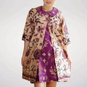 model batik kantor orang gemuk model baju batik kantor wanita gemuk zommi