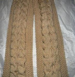 easy cable knit scarf seed stitch cable knit scarf allfreeknitting