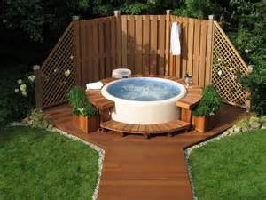Backyard Ideas Tubs Above Ground Tub Why Are The Popular Backyard