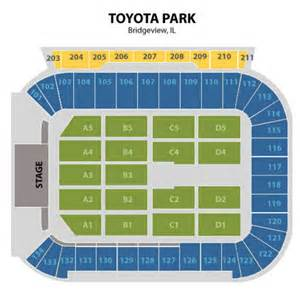Toyota Park Seating Chart Toyota Park Concert Seating Chart Toyota Park Concert Tickets