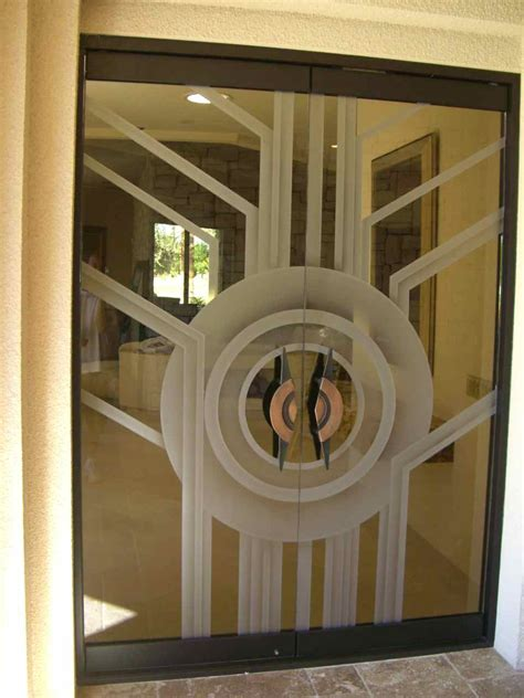 All Glass Exterior Doors Contemporary All Glass Doors Create A Sleek Entrance Sans Soucie Glass