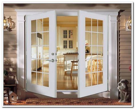 outward swing sliding doors milgard essence series in swing and out patio doors