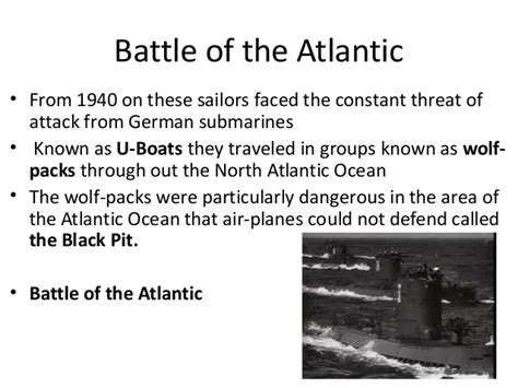 german u boats traveled in groups known as 4 2 wwii big one website