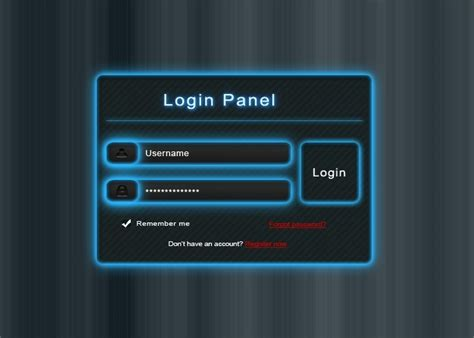login panel template free 20 new useful free psd templates for designers idevie