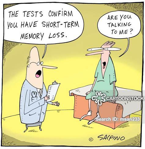 short term memory loss cartoons  comics funny