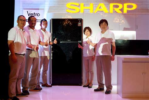 Lemari Es Sharp Vetro Series usung berbagai keunggulan sharp perkenalkan kulkas grand